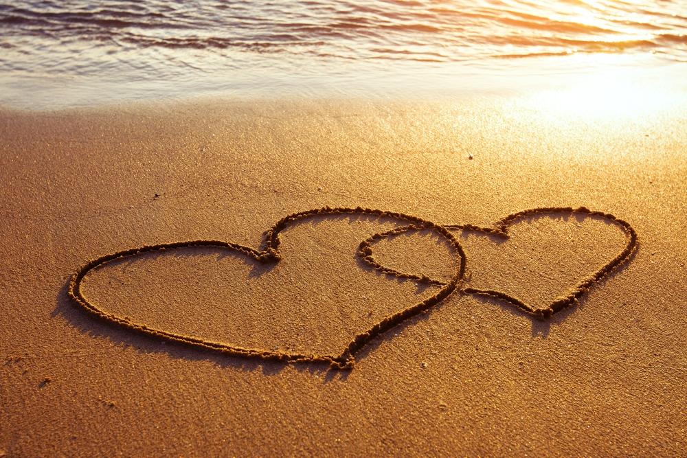 Coeurs-plage