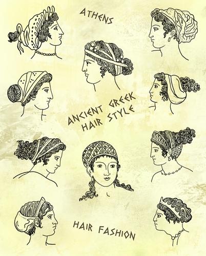 coiffures-antiques