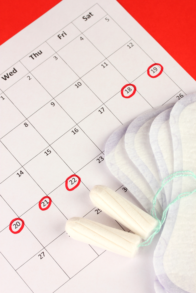 calendrier règles
