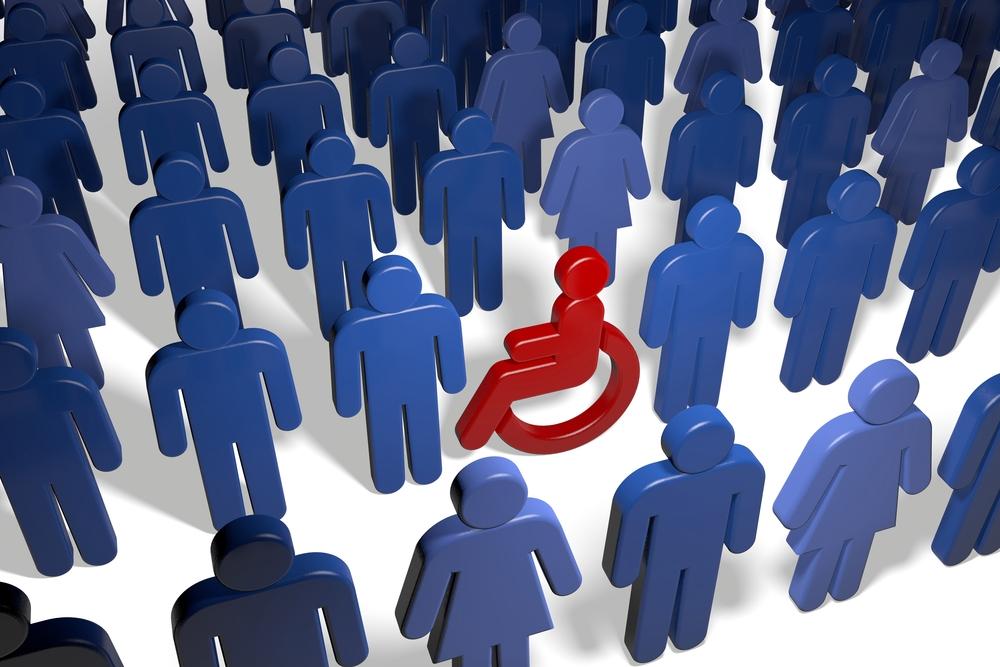 rencontre quelqu'un qui a un handicap