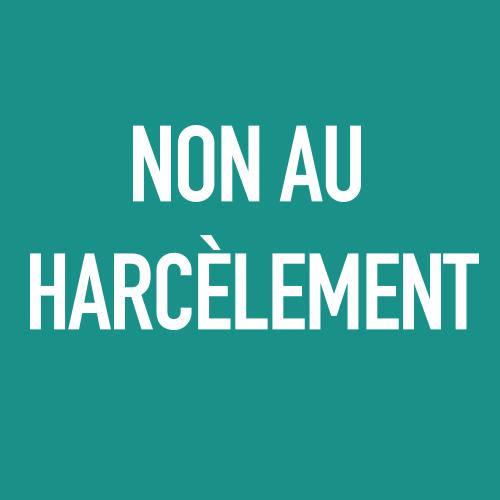 #NonAuHarcelement