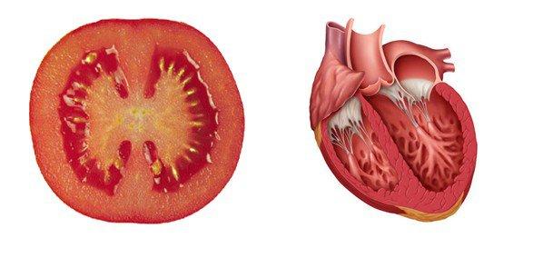 5. Tomate coeur
